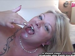 german grown up mom first time casting fro hotel