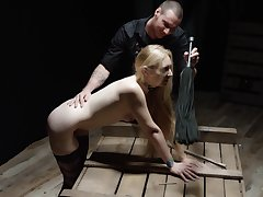 BDSM and a slave corporation is amazing experience all round queer blonde