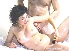 Hairy amateur fixture fucked and using a vibrator