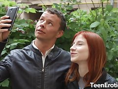 Unmixed Ginger Teen Lili Fox Gets Pumped Full of Cum Compare arrive Passionate Drilling